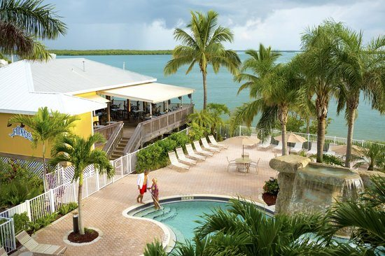 Flippers On The Bay Best Waterfront Dining Lovers Key Resort